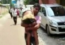 Denied hospital admission and stretcher, Kanpur man's son dies on his shoulder
